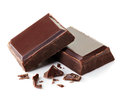 Pieces Of Dark Chocolate Royalty Free Stock Images - 50438309