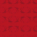 Seamless Red Background With Dark Lotus.  Seamless Pattern. Royalty Free Stock Photography - 50452337