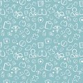 Green Medical Seamless Pattern Stock Photography - 50457342