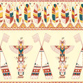 Tribal Vector Pattern Stock Photography - 50457612