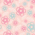 Seamless Floral Pattern. Flowers Texture. Daisy. Royalty Free Stock Photos - 50476868