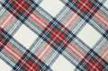 Woolen Checkered Fabric Texture Royalty Free Stock Image - 50486116