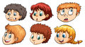 A Group Of Heads Stock Images - 50509714