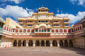 City Palace In Jaipur Stock Image - 50517611