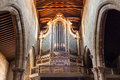 Organ In Church Stock Photography - 50518922