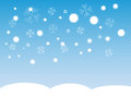Falling Snow Stock Images - 50520514