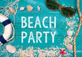 Beach Party Royalty Free Stock Photography - 50527947