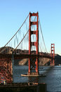 A View Of The Golden Gate Bridge Royalty Free Stock Photography - 50530027