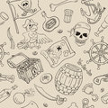 Pirate Seamless Pattern Royalty Free Stock Images - 50530889