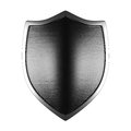 Silver Shield Side Lit Royalty Free Stock Images - 50547319