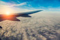 Wing Of The Plane Royalty Free Stock Photos - 50559928