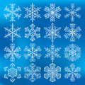 Snowflakes Vectors Icons Stock Images - 50561804