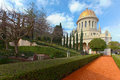 Bahai Temple And Gardens Royalty Free Stock Image - 50562786