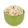 Popcorn In A Bowl Royalty Free Stock Photo - 50586685