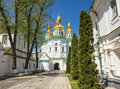 Church Of Famous Kiev Pechersk Lavra Monastery Royalty Free Stock Photos - 50599848