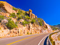 Mountain Road Royalty Free Stock Images - 5064629