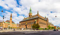 View Of Copenhagen City Hall Royalty Free Stock Photo - 50611275