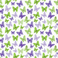 Colorful Butterflies Seamless Pattern Royalty Free Stock Photo - 50618445