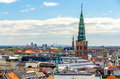 View Of Copenhagen From The Round Tower Stock Photos - 50621553