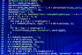 Coding Programming Source Code Screen. Colorful Abstract Data Display. Software Developer Web Program Script. Royalty Free Stock Image - 50624106