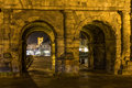 Porta Negra In Trier At Night Stock Photography - 50635112
