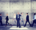 Business Man Individuality Modern Organization Concept Stock Photography - 50639002