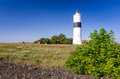 Ottenby Lighthouse - Sea Coast View Stock Photography - 50646692