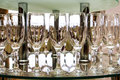 Wine Glasses And Table Setting In Restaurant Stock Photos - 50663923