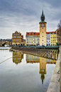 Reflections In Prague Stock Photography - 50665302