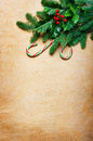 Christmas Background With Candy Canes And Spruce Branch Stock Photo - 50668950