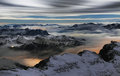 Sea Of Clouds In The Dolomites, Italy, Europe Stock Photography - 50671342