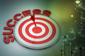 Dart Target Success Business Concept Royalty Free Stock Image - 50688926