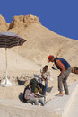 Men Work For Excavation Of Tombs Stock Images - 50689394