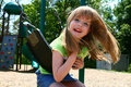 Carefree On A Swing Royalty Free Stock Photos - 5076058