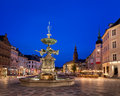 Amagertorv Square And Stork Fountain In The Old Town Stock Photo - 50755200