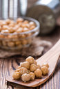 Canned Chick Peas Stock Images - 50763274
