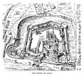 Tower Of London Engraving Royalty Free Stock Photo - 50798925