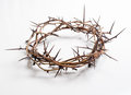 A Crown Of Thorns On A White Background - Easter. Religion. Royalty Free Stock Photo - 50803435