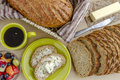 Fresh Baked Whole Grains And Seeded Bread Royalty Free Stock Photos - 50804238