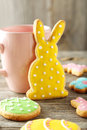 Easter Cookies Stock Image - 50833761