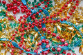 Colorful Mardi Gras Beads Royalty Free Stock Photos - 50836248