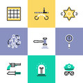 Police And Crime Pictogram Icons Set Royalty Free Stock Images - 50848999