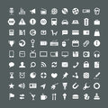 Web Application Icons Collection Stock Photo - 50850390