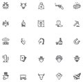 Wild West Icon Set Royalty Free Stock Images - 50855849