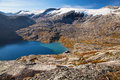 Way To Dalsnibba Mountain In Norway Royalty Free Stock Image - 50856916