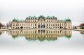 Belvedere Palace In Vienna Royalty Free Stock Photos - 50862328