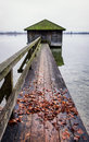 Old Wooden Boathouse Royalty Free Stock Photos - 50871528