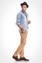 Young Casual Man Holding One Hand In His Pocket Royalty Free Stock Photography - 50882857