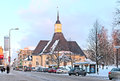 Lappeenranta. Finland. Saint Mary Church Stock Images - 50892614