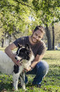 Man And His Dog Stock Photography - 50897372